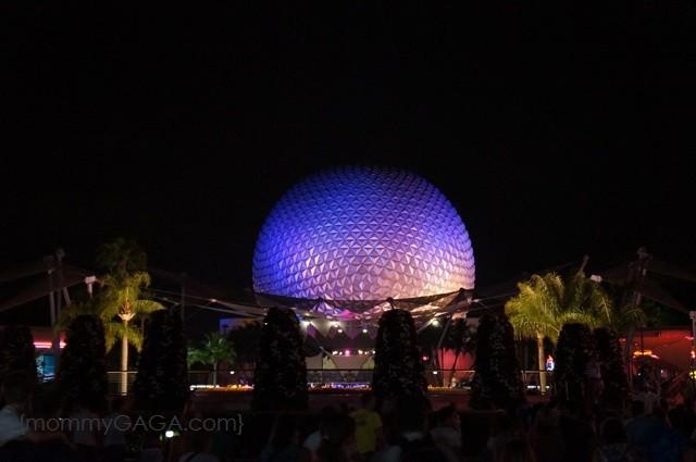 Epcot Center Iconic Sphere