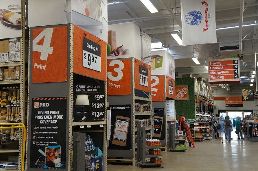 Take On Any Home Project At The Home Depot: San Diego Store Grand ...