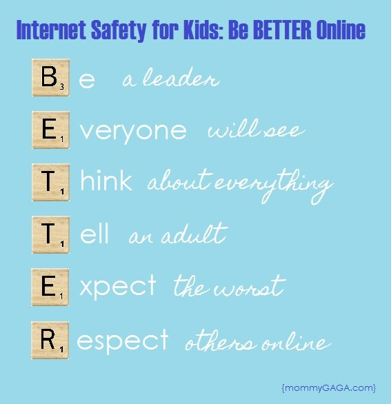 Internet Safety for Kids, Be BETTER Online