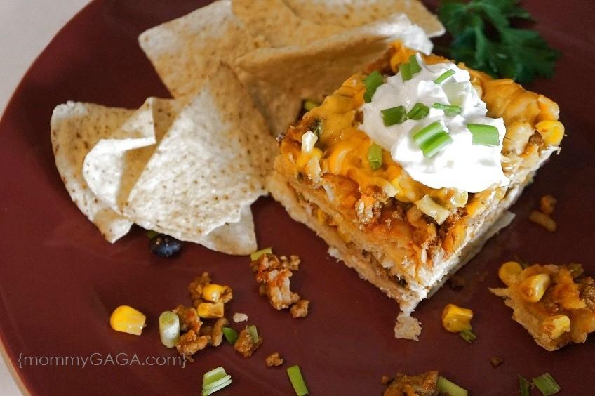 In My Kitchen: Easy Turkey Enchilada Casserole