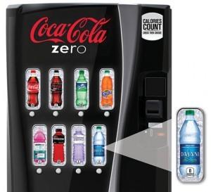 Coca Cola Zero Vending Machine