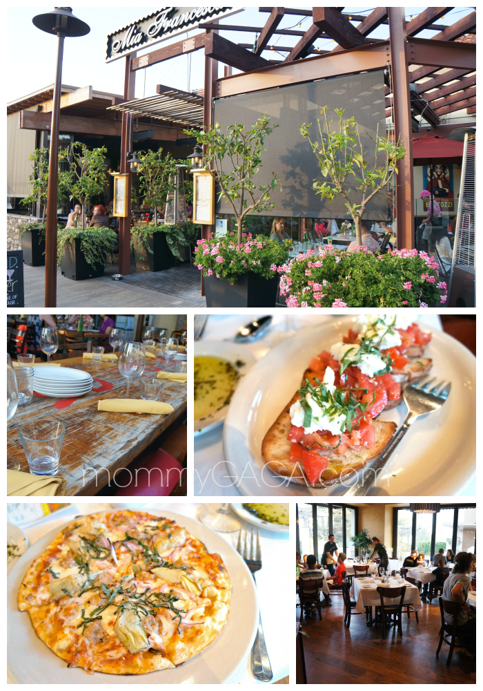 Mia Francesca, Italian Restaurant, San Diego