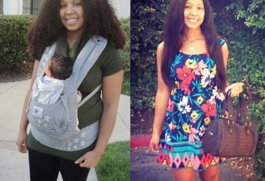 before and after pregnancy weight loss photos