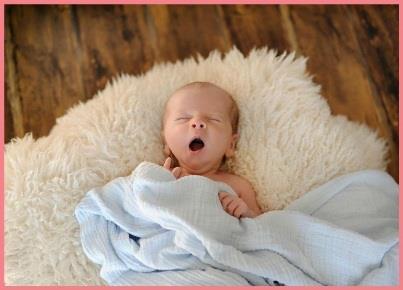 newborn baby yawning, Dreft
