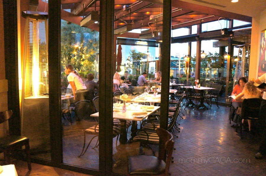 outdoor dining patio, mia francesca