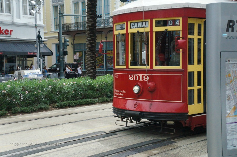 Canal Streetcar, New Orleans