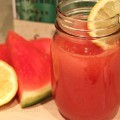 Watermelon Cooler with Seagram's Ginger Ale