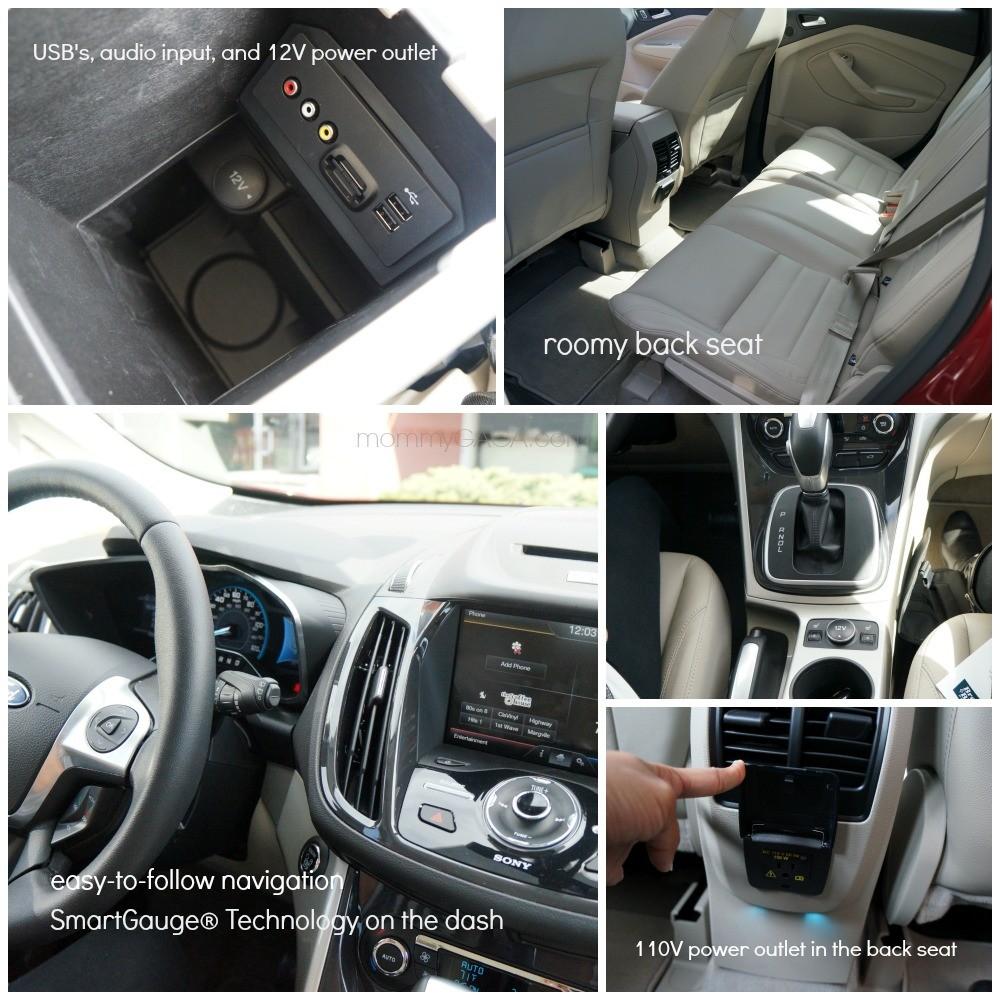 Ford C-Max Hybrid Car Interior Photos