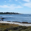 View of Pebble Beach, California, 17 Mile Drive