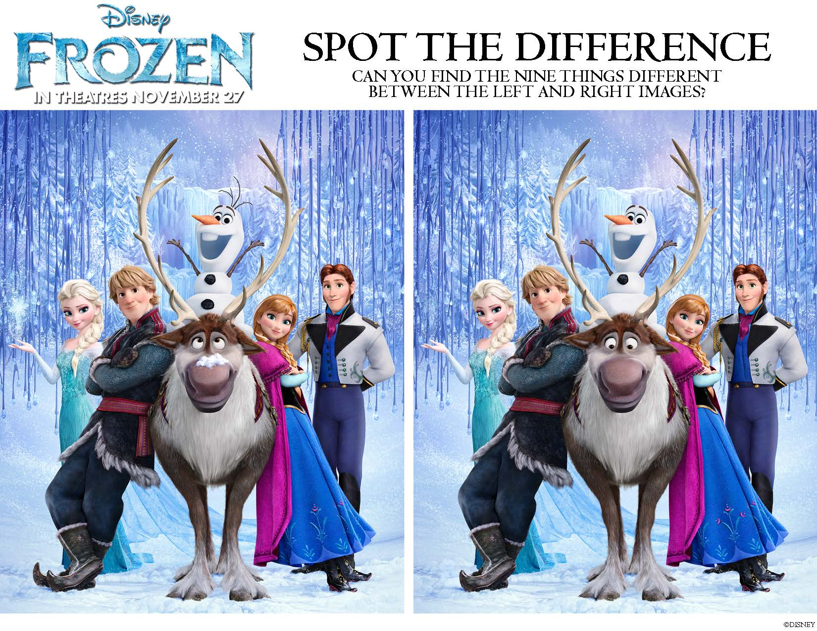 Disneys FROZEN Movie Printable Coloring Pages And Activity Sheets For Kids