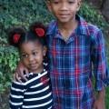 Kids wearing OshKosh BGosh holiday styles