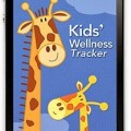 Kids wellness tracker app