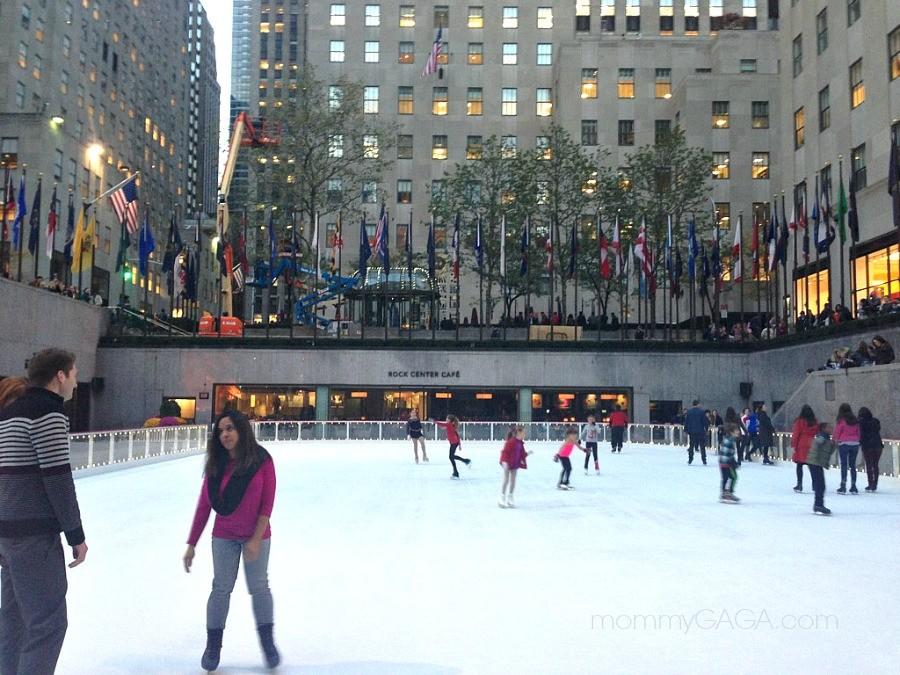 Rockefeller Center Ice Skating Rink, New York