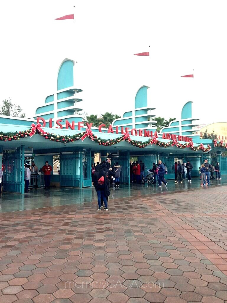 Christmas Time at Disney California Adventure
