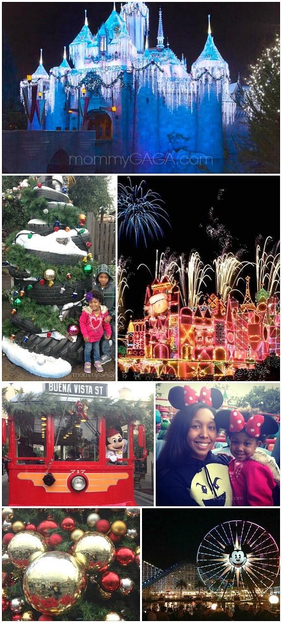 Christmas Time at Disneyland Photos