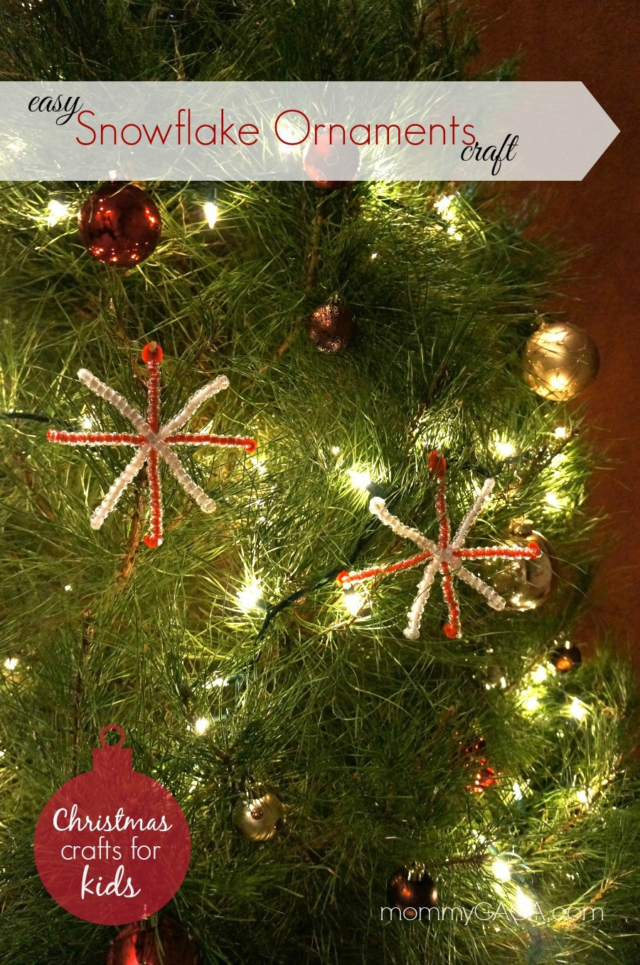 Easy Christmas Crafts for Kids: Homemade Snowflake ...