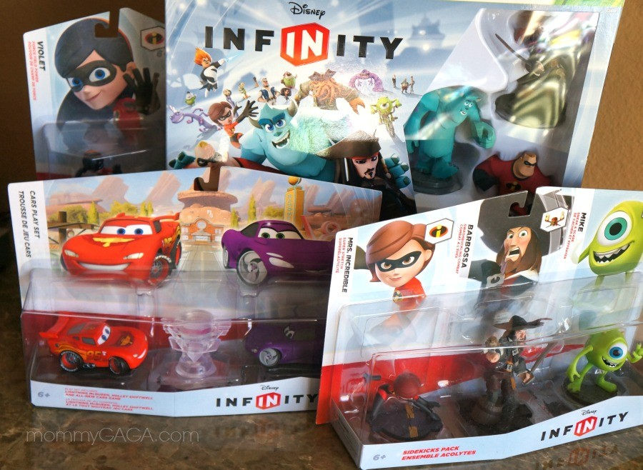 Disney Infinity Starter Set and Figures