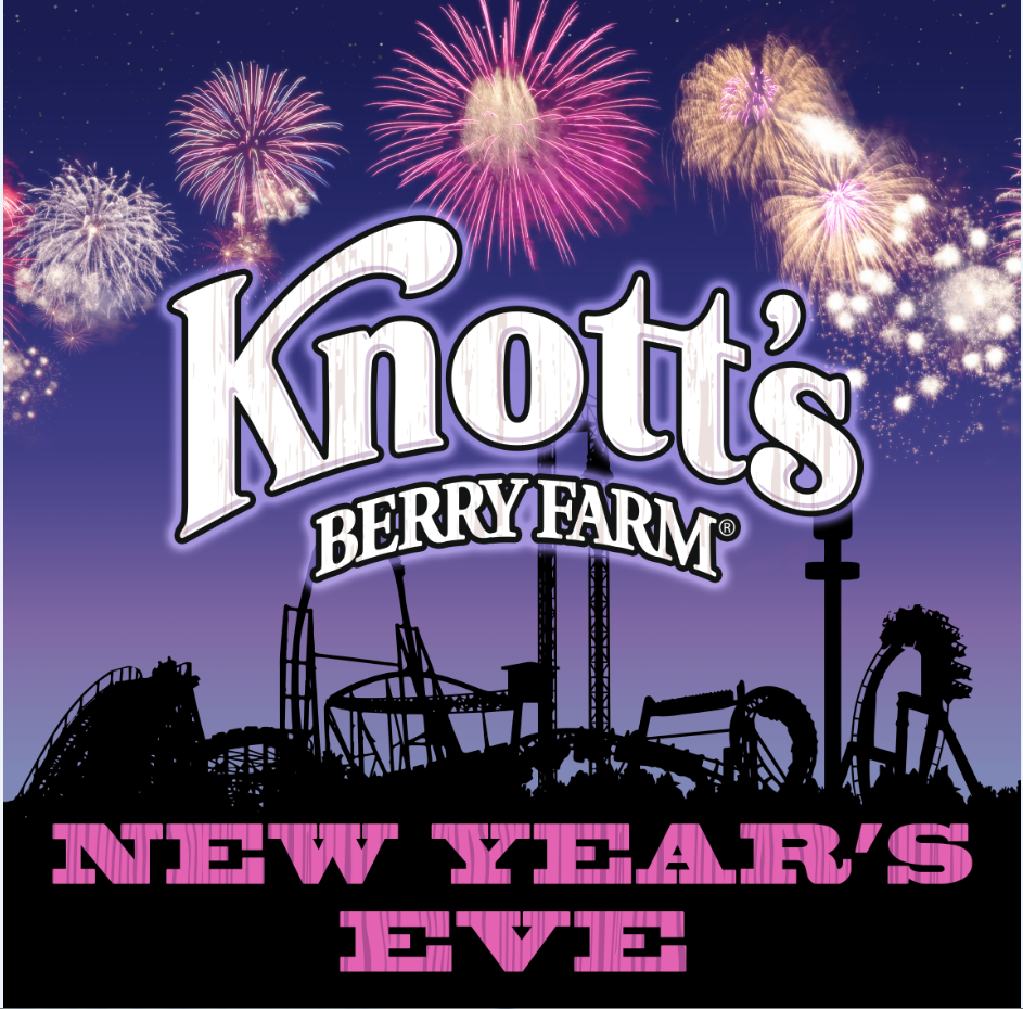 Knott's Berry Farm NYE Banner