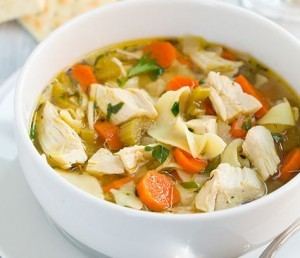Slow cooker recipes, chicken noodle soup photo: Cooking Classy