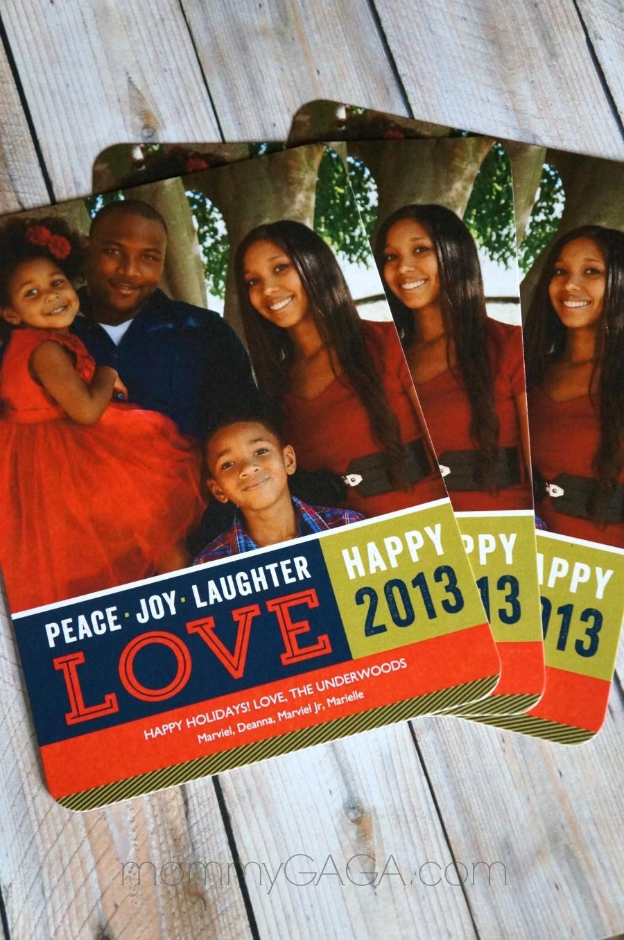 Tiny Prints family holiday photo cards