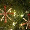 snowflake ornament Christmas craft