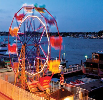 Newport Beach Activities Balboa Fun Zone Ferris Wheel