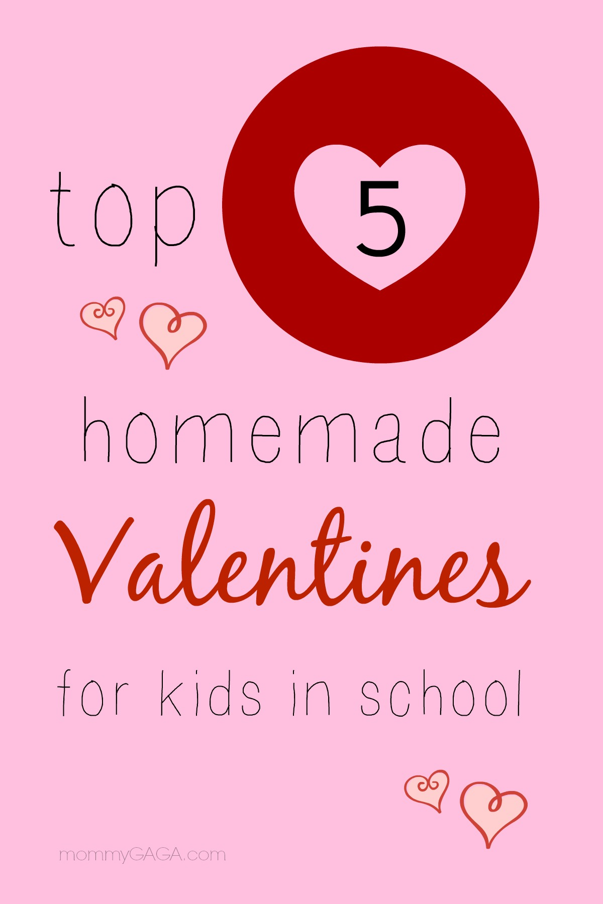 Homemade Classroom Valentines for Kids In School