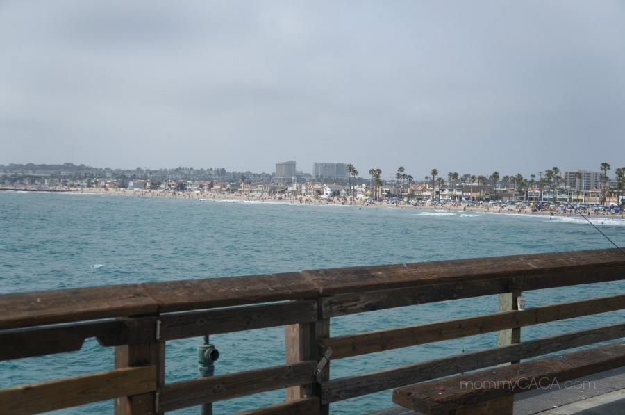 View of Newport Beach from the Pier