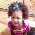 Little mixed girl