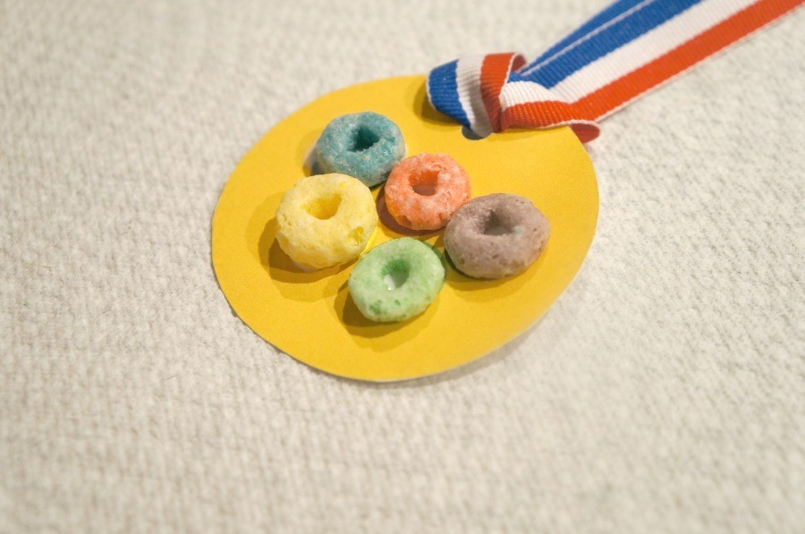 Olympic Rings Medal Craft