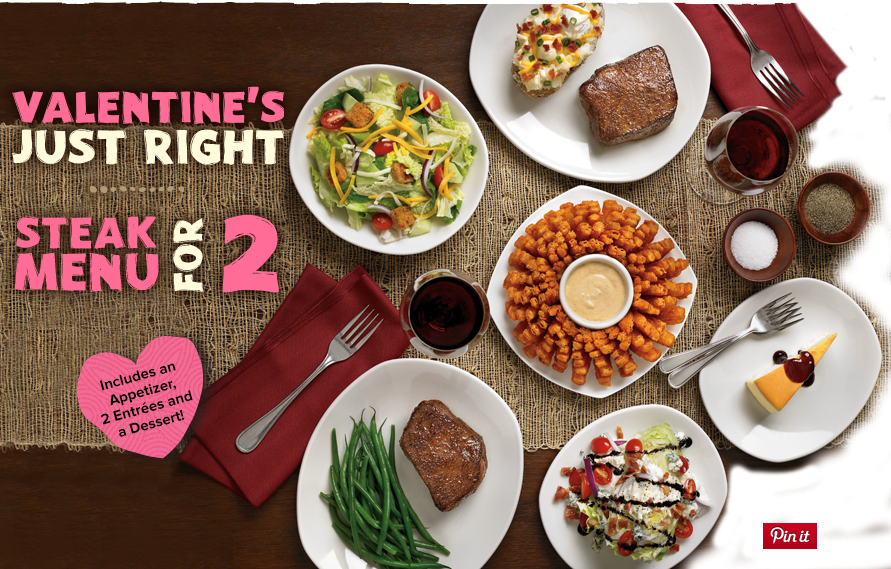 Outback Steakhouse Valentineu0027s Day Special 2014