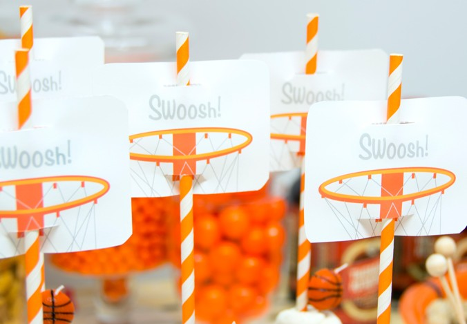 Slam Dunk March Madness Basketball Birthday Party Ideas