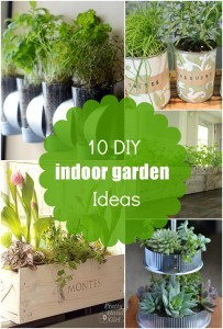 10 diy indoor herb garden ideas and planters they 39 re easy for Indoor gardening for seniors