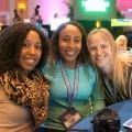 Deanna Underwood, Leanette Fernandez, Louise Bishop, Disney Social Media Moms Conference, 2014