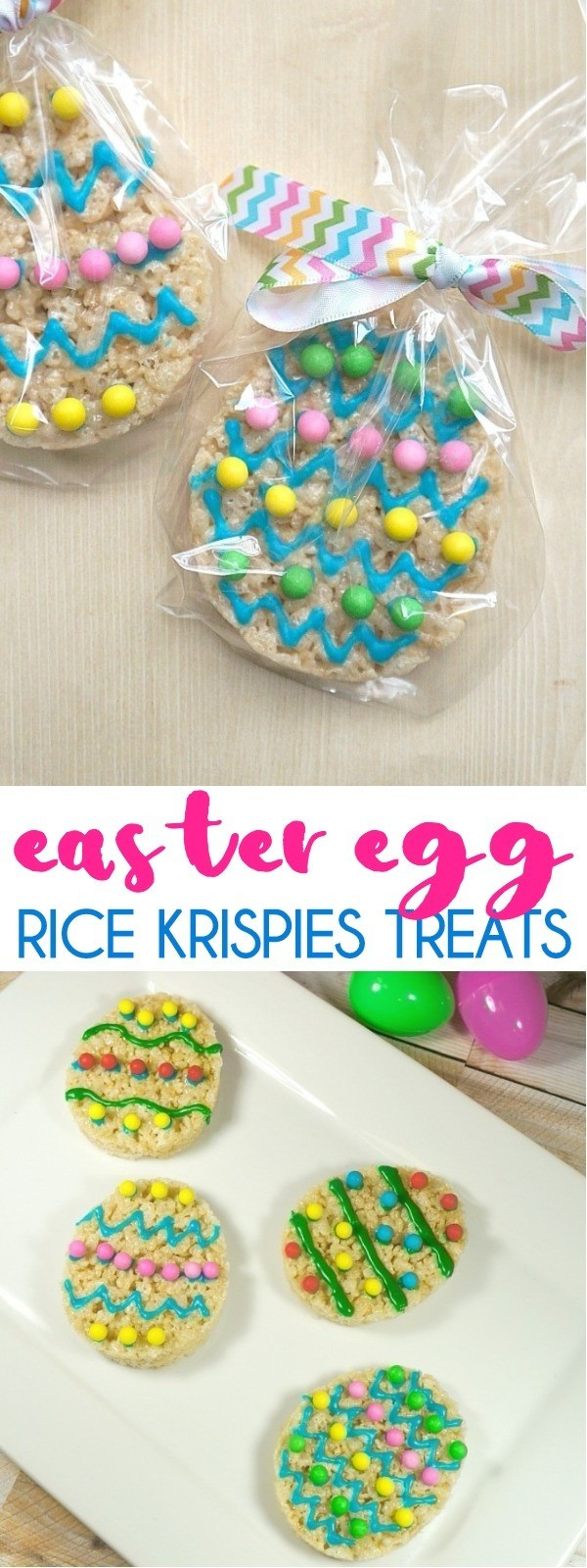 Easter Egg Rice Krispies Treats Recipe - What Fun Easter Party Favor Ideas!