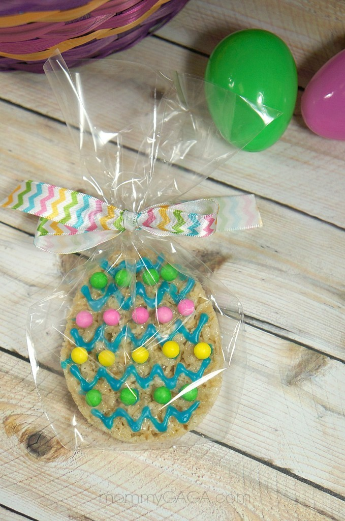 Easter Rice Krispies Treat Cookie Favors