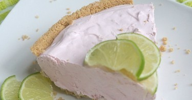Frozen Cherry Lime Kool-Aid Pie