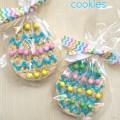 Handmade Easter Party Favors, Rice Krispies Treat Cookies