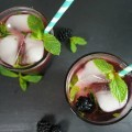 Blackberry Mint Moscato Refreshers