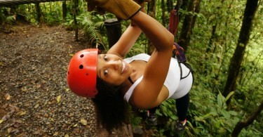 Deanna Underwood, mommyGAGA, ziplining with San Luis Canopy Tours, Costa Rica