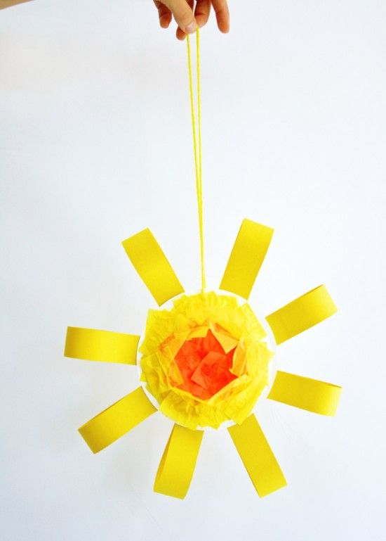 Sunshine Mobile Summer Craft For Kids
