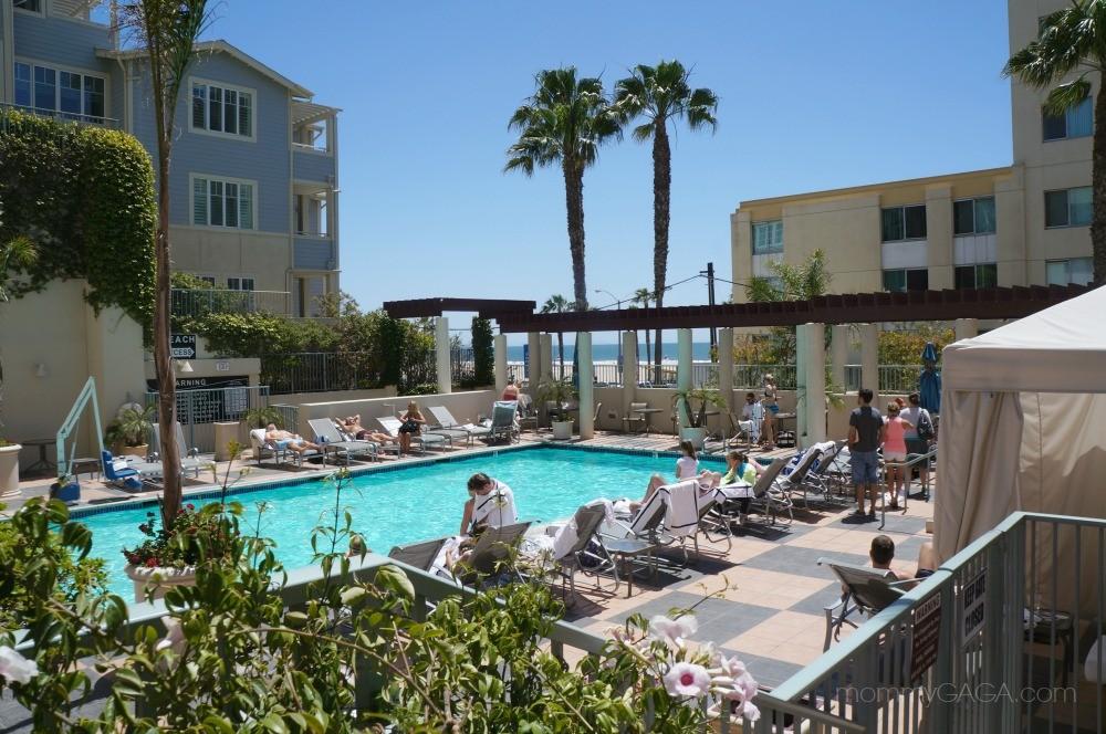 The Pool At Jw Marriott Hotel Santa Monica