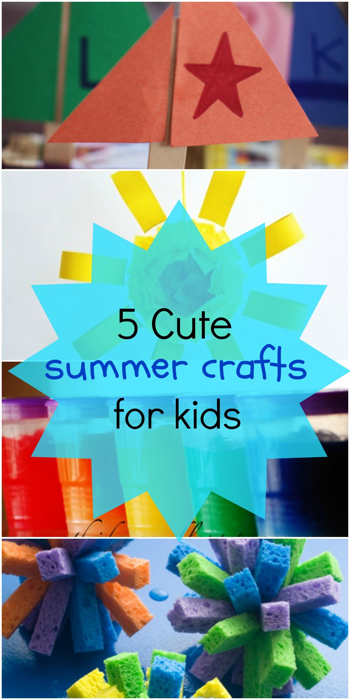 Arts And Crafts For Preschoolers Summer