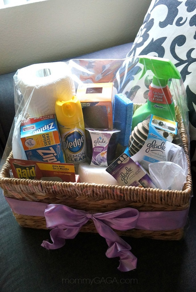 DIY Housewarming Gift Basket with Glade® Fragrances