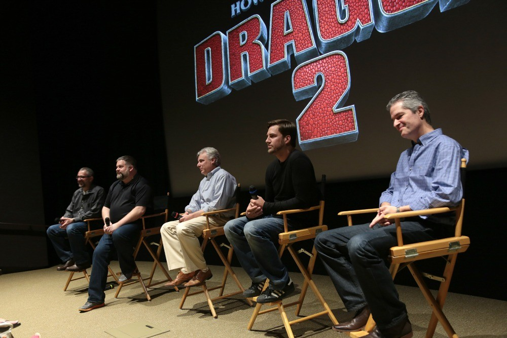 Dreamworks How To Train Your Dragon 2 Press Day Panel