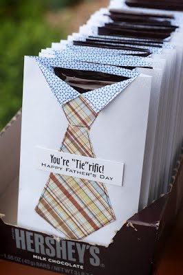 Fathers Day Tie Hershey Bar Holders