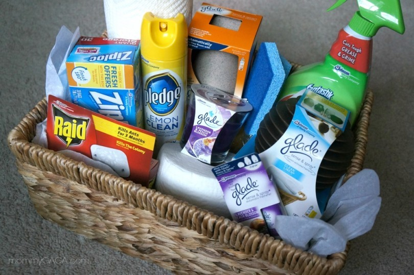 What to put in a housewaming gift basket