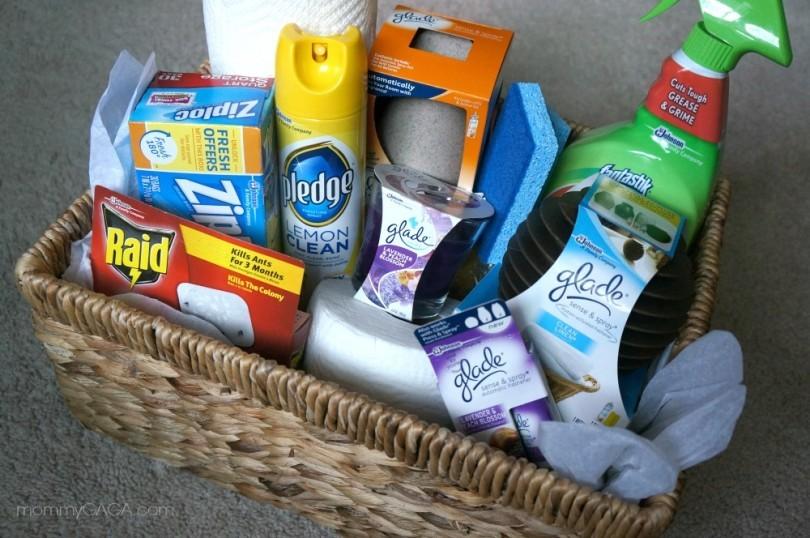 Basket Making Supplies San Diego : Housewarming gift ideas diy home essentials basket