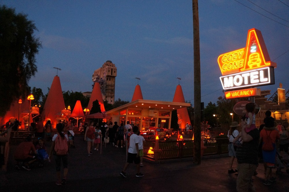 Cozy Cone Motel, Carsland, Disney's California Adventure