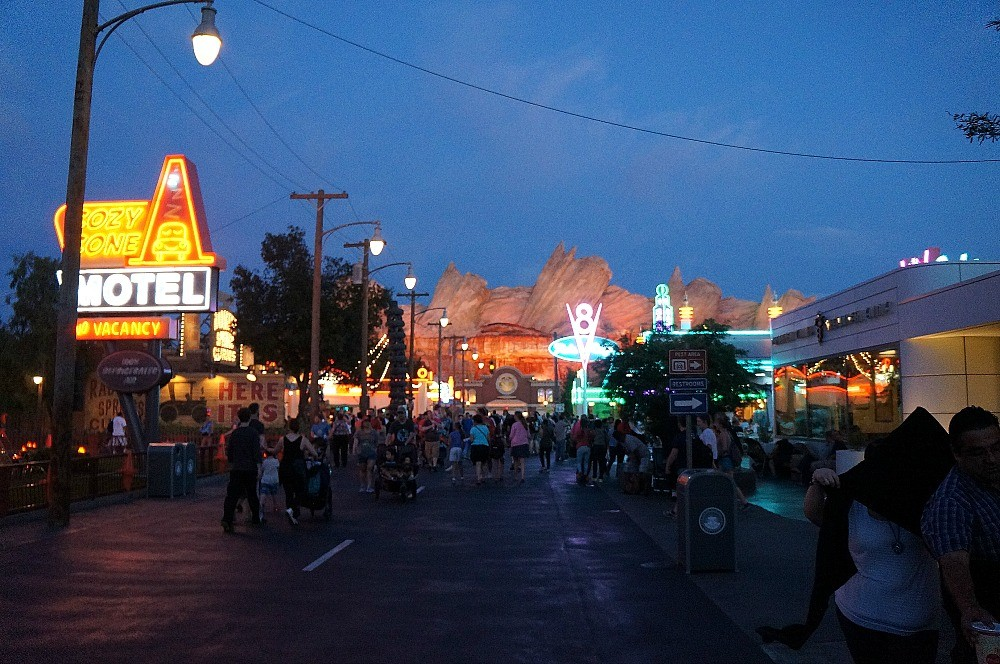 Entrance To Carsland, Disney's California Adventure Park